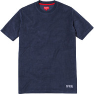 Supreme Terry Tee Navy