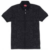 Supreme Paisley Polo Black