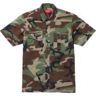 Supreme Safari Woodland Camo Shirt