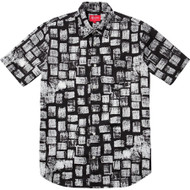 Supreme Block Print Shirt Black
