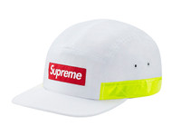 Supreme Side Zip Camp Cap White