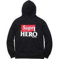 Supreme Anti Hero Zip Up Black
