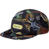 Supreme Remington Camp Cap Black