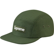Supreme Wool Herringbone Camp Cap Olive