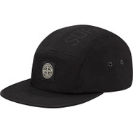 Supreme / Stone Island Camp Cap Black