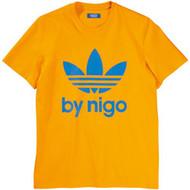 Adidas By Nigo Terfoil Logo Tee Collegiate Gold