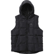 Supreme Iridescent Puffy Vest Black