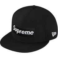 Supreme Gore-Tex 2-Tone New Era Black 7 1/4