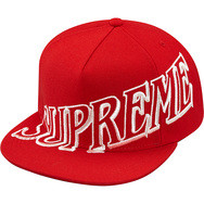 Supreme Overlap 5-Panel Red