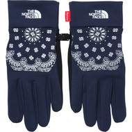 Supreme / The North Face Bandana Etip Gloves Navy Large