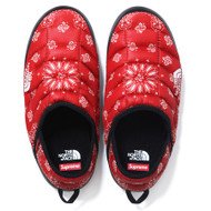 Supreme / The North Face Bandana Thermoball Traction Mule Size 9 Red