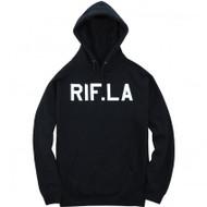 RIF. LA PUSHING WEIGHT HOODIE NAVY MEDIUM