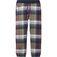 Supreme Plaid Sweatpant Navy Size Small