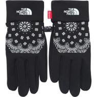 Supreme / The North Face Bandana Etip Gloves Black Large