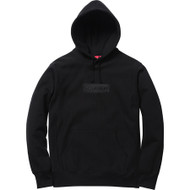 Supreme Box Logo Pullover Hoodie Black