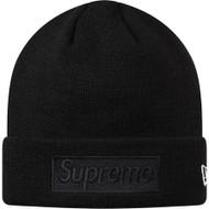 Supreme New Era Box Logo Beanie Black