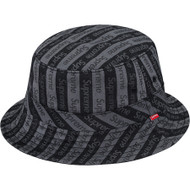Supreme Jacquard Logo Crusher Black S/M