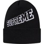 Supreme Expansion Beanie Black