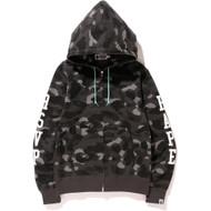 Bape - RSVP Gallery x Bape 1st Camo Full Zip Hoodie Black