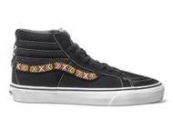 Vans Vault Classic Sk8 HI LX Black Beaded Huichol Size 9
