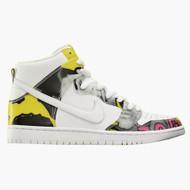 De La Soul Nike Dunk High White / Firefly Size 9