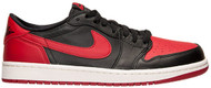Air Jordan 1 Retro Low OG Black / Varsity Red-Sail Size 9.5
