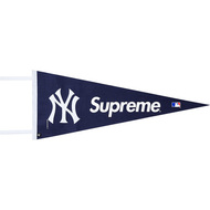Supreme / Yankees Pennant Navy