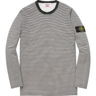 Supreme / Stone Island Long Sleeve Top  Black