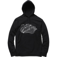 Supreme Daniel Johnston Logo Hooded Sweater Black