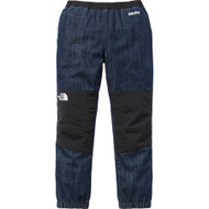 Supreme / North Face Denim Denali Indigo Pants Size M