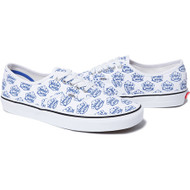 Supreme / White Castle Vans Authentic White Size 9