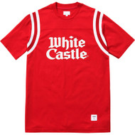 Supreme / White Castle Football Top Red