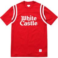 Supreme / White Castle Football Top Red