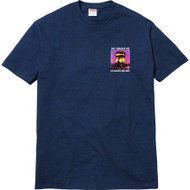 Supreme Heart Tee Navy