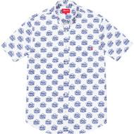 Supreme / White Castle Oxford Shirt White