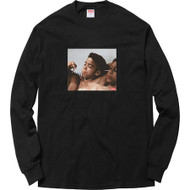 Supreme Kids Blunt Long Sleeve Tee Black