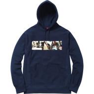 Supreme Kids 40 oz Hooded Sweatshirt Navy