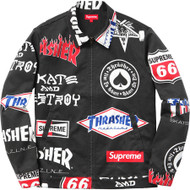 Supreme / Thrasher Work Jacket Black