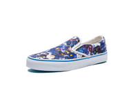 Vans Vault Classic Slip-On XL Murakami Skull Blue Size: Men US 6 Women US 7.5