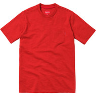 Supreme Short Sleeve Pocket Tee Red