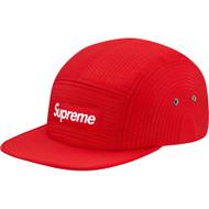 Supreme Contour Stitch Camp Cap Red
