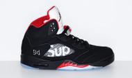 Supreme / Air Jordan 5 Size 12 Black
