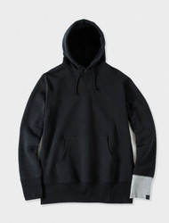 Stussy Mastermind Loopwheeler Circle Skull Hooded Black/White