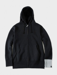 Stussy Mastermind Loopwheeler Zip Up Jacket  Black/White