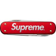 Supreme Victorinox Money Clip Red