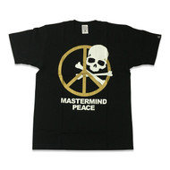 Mastermind Japan Peace T Shirt Black/Gold