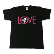 Mastermind Japan Love T Shirt Black