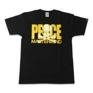 Mastermind Japan Peace T Shirt Black
