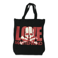 Mastermind Japan Love Sweatshirt Tote Bag Black