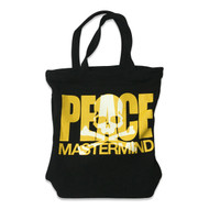 Mastermind Japan Peace Sweatshirt Tote Black